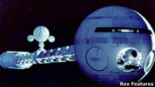"""Nave espacial en la película """"2001: odisea espacial"""""""