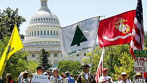 Activistas del Tea Party