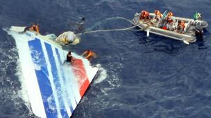 Máy bay hãng Air France bị rơi
