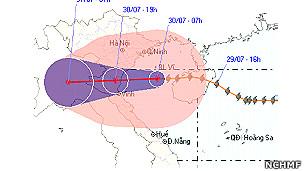 Bão số 3 (Nock-ten storm) (NCHMF)