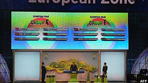Ronaldo e Ganso participaram do sorteio da chave europeia (AFP)