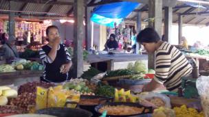 Pasar di Lampung Timur