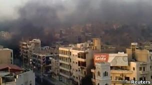 叙利亚哈马市(2011年7月31日)