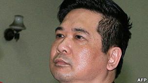 Ảnh tư liệu: Ông Cù Huy Hà Vũ tại tòa hôm 4/4