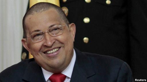Penampilan baru Presiden Hugo Chavez
