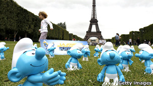 Los Pitufos en París