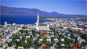 Imagen de la capital islandesa del sitio de la municipalidad
