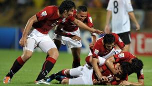 لاعبو منتخب مصر للشباب