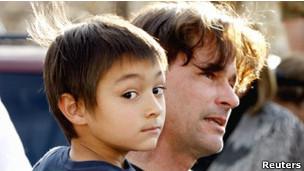 Falcon Heene y su padre