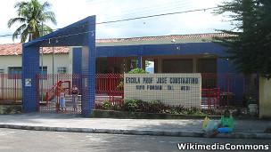 Escola pública em Agrestina, Pernambuco. WikimediaCommons