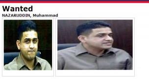 Nazaruddin dalam daftar Interpol