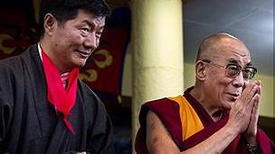 dalai lama and sangay