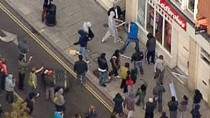 Bạo loạn ở Hackney