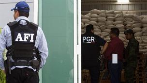Decomiso de droga en México. Archivo