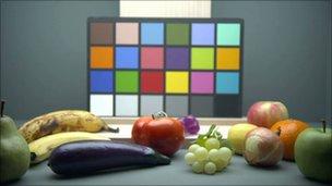 Colores y frutas