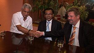 Firma de convenio Cuba- Rusia
