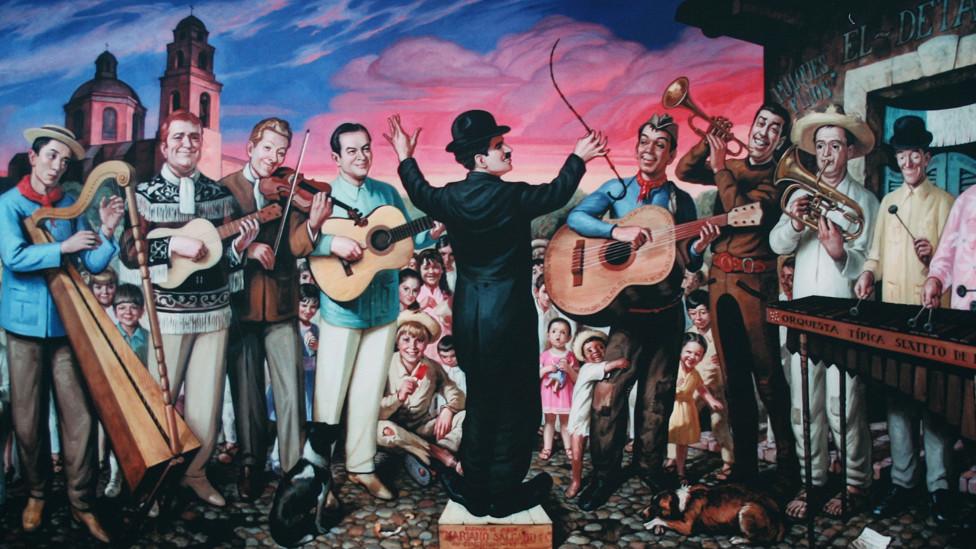 Bbc mundo noticias cien a os de cantinflas ah est for El mural pelicula online