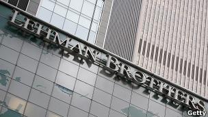 Edificio de Lehman Brothers en Nueva York