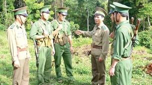 Bộ đội biên phòng Việt Nam (ảnh của SGGP)