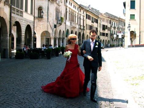 An Italian wedding