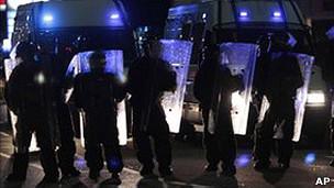 Policía en Londres.