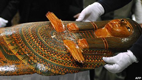"""""""La momia de la mala suerte"""", del Museo Británico"""