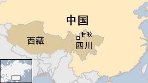 ganzi map