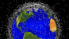 Lixo espacial que circula a Terra.   Imagem: Nasa
