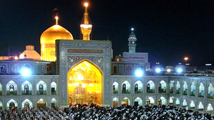 Masjid dan makam Imam Reza