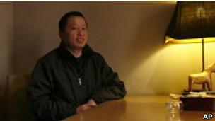 中国官方称高智晟违反缓刑规定被重新送回监狱