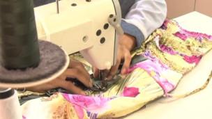 máquina de costura (foto: BBC)