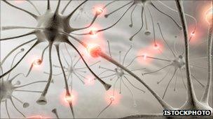 Ilustración de neuronas conectadas