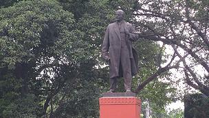 Tượng Lê-nin tại Calcuta, Ấn Độ