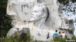 O parque Lênin, em Havana