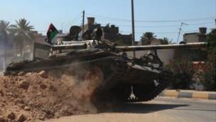 利比亚反对派坦克