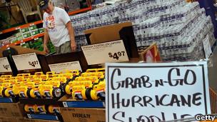 Preparación para huracán