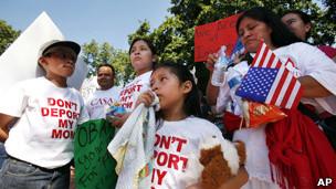 Inmigrantes indocumentados en EE.UU.