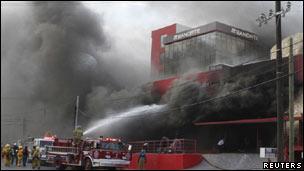 Incendio en Casino Royale, Monterrey