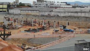 A construção do Templo de Salomão, em São Paulo