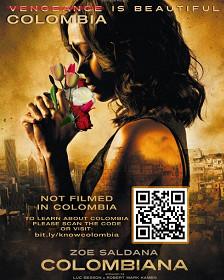 """Poster de la película """"Colombiana"""""""
