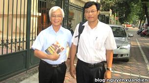 Ông Chu Hảo và ông Nguyễn Xuân Diện