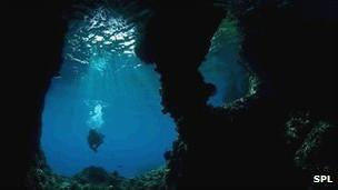 Rio subterrâneo