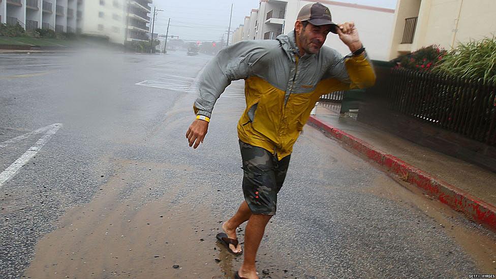 Los efectos del huracán Irene