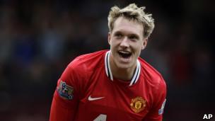 Phil Jones wa Manchester United