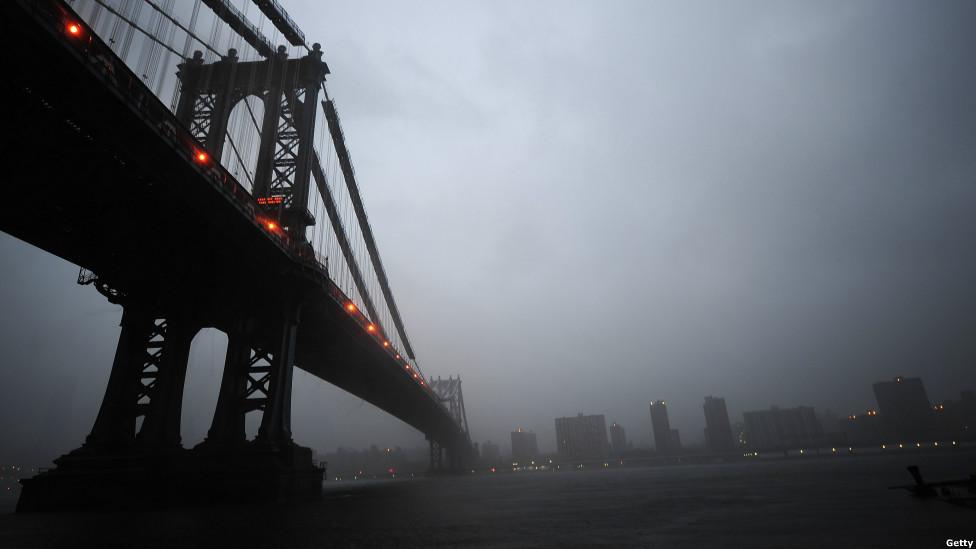 Irene llega a Manhattan