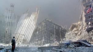 Los restos de las Torres Gemelas
