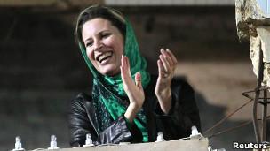 Con gái Ayesha Gaddafi