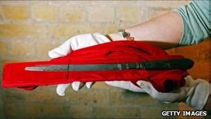 Éste es el cuchillo que se piensa fue usado por Jack el Destripador
