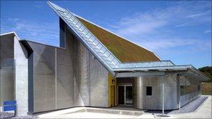 Edificio del archivo de BFI