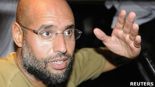 卡扎菲次子赛义夫·伊斯拉姆(23/8/2011)